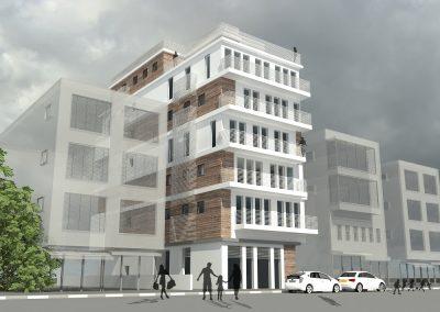בניין בתל אביב יסוד המעלה 27